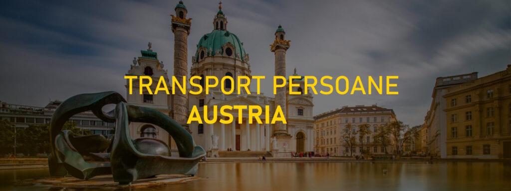 transport persoane romania-austria